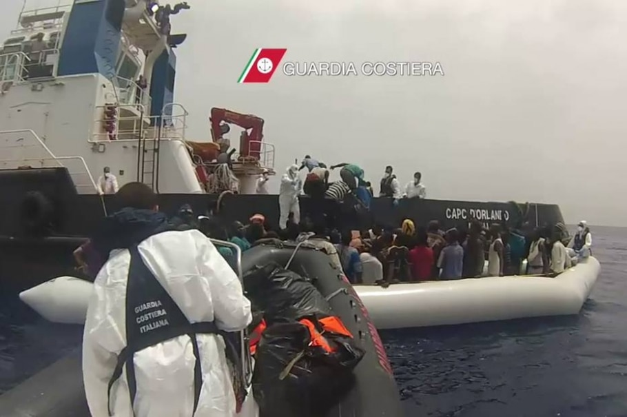 Mortes no Mediterrâneo - AFP