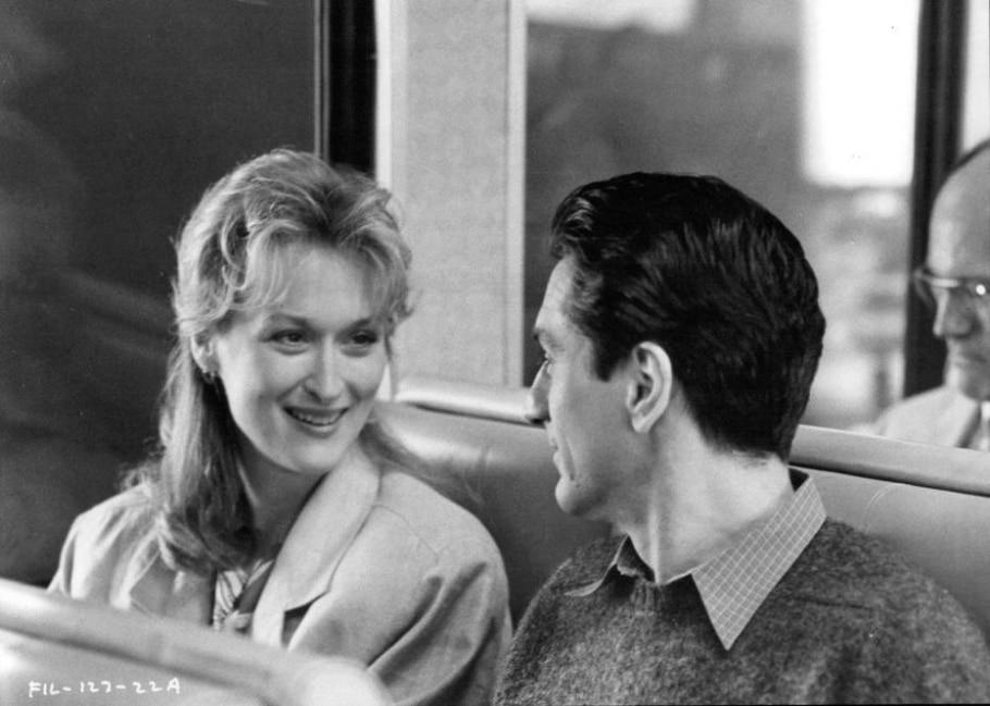 Meryl e De Niro em 'Amor à Primeira Vista', de 1984 - Divulgação