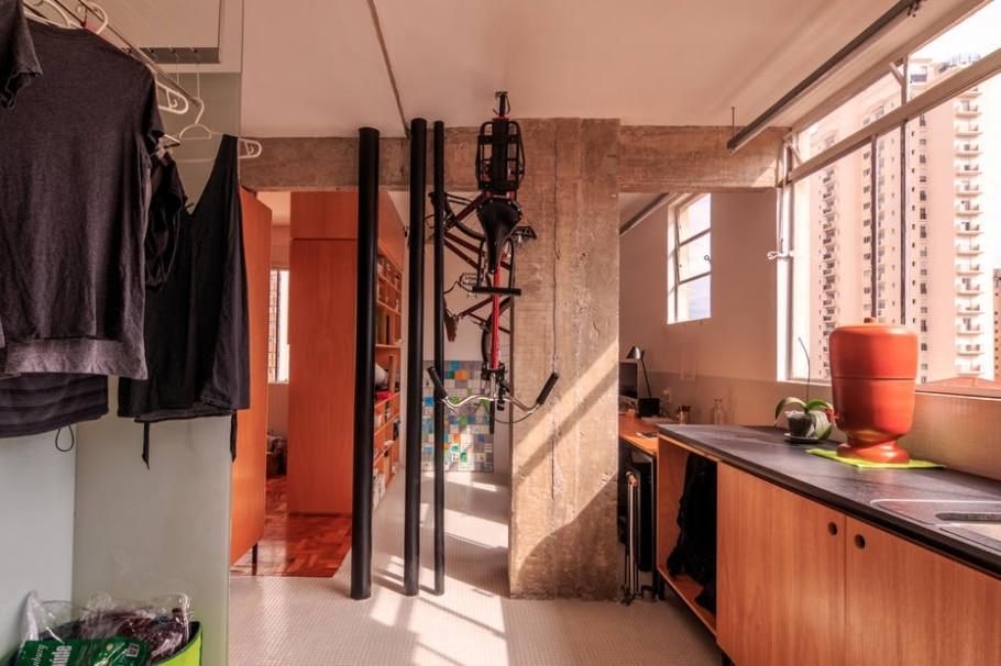 Apartamento de madeira  - Rafael Monteiro/Divulgação