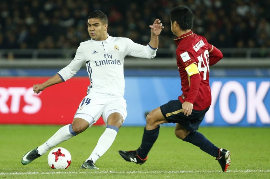 Casemiro, volante do Real Madrid - Mitsuo Ogasawara/ Reuters
