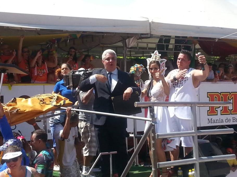 Desfile Galo da Madrugada: casamento - Divulgação