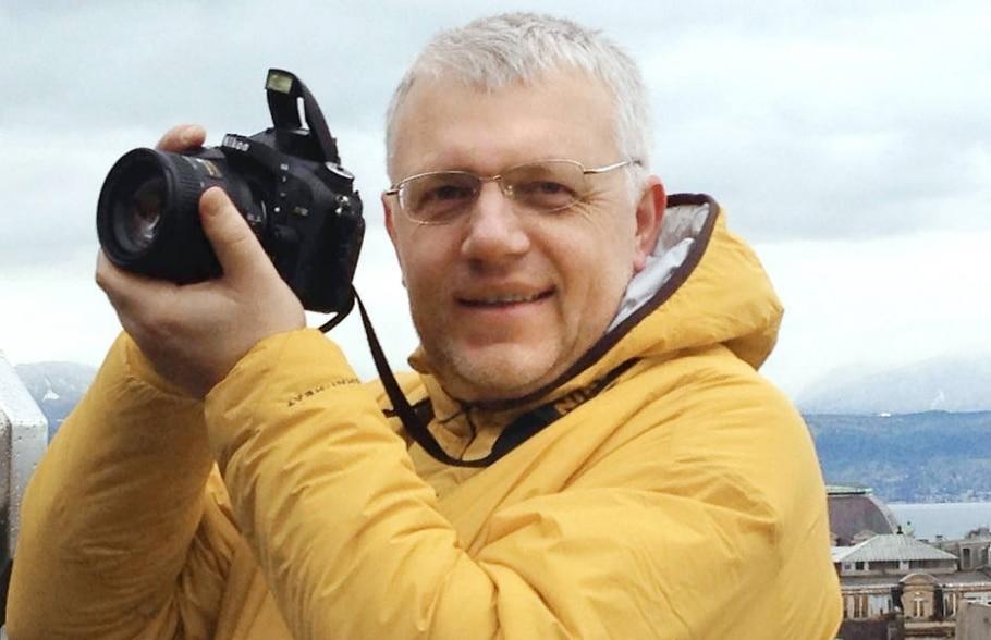 Pavel Sheremet tinha 44 anos e há 5 morava na Ucrânia - AFP PHOTO / Ukrainska Pravda / Dmytro LARIN