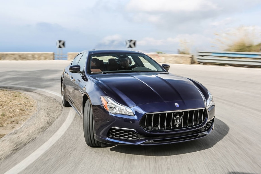 Maserati Quattroporte GTS Gran Lusso - Divulgação