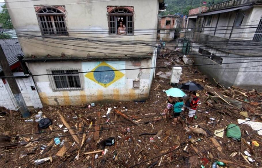 Fortes chuvas atingem cidades do Estado do Rio - Wilton Júnior/AE