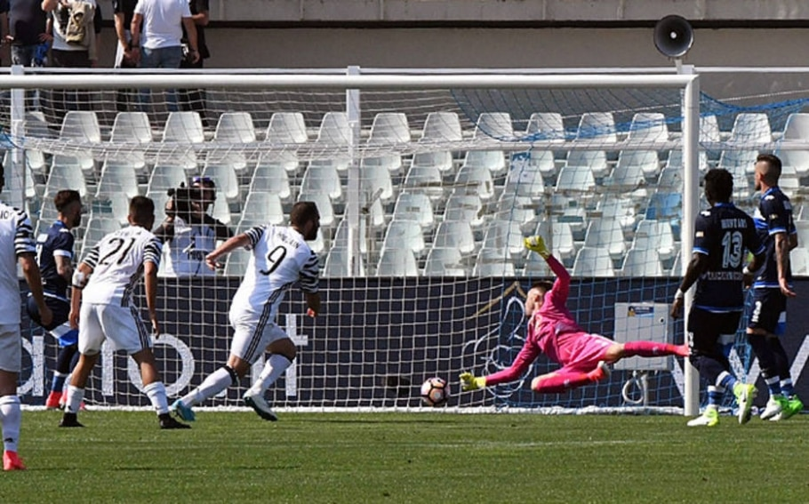 Gonzalo Higuaín, atacante da Juventus - Claudio Lattanzio /AP Photo