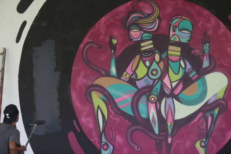 Bienal Internacional de Graffiti Fine Art - Nilton Fukuda/Estadão