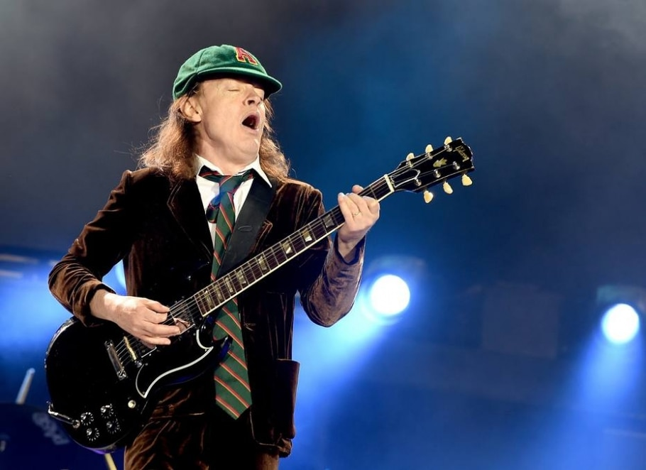19.º Angus Young (1955) - KEVIN WINTER/GETTY IMAGES