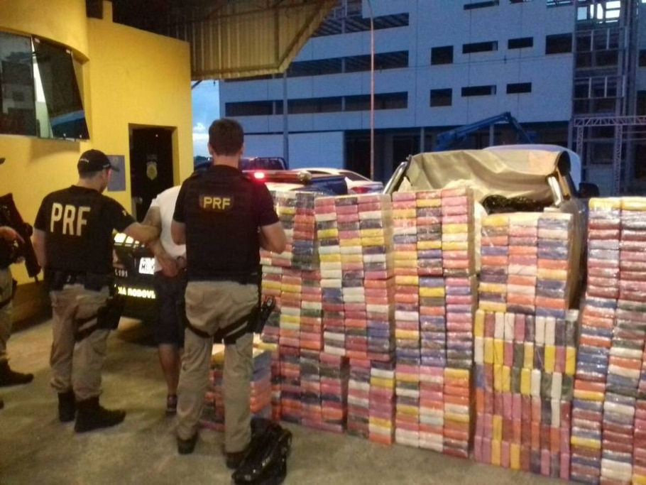 PRF apreende cocaina - Divulgação/PRF