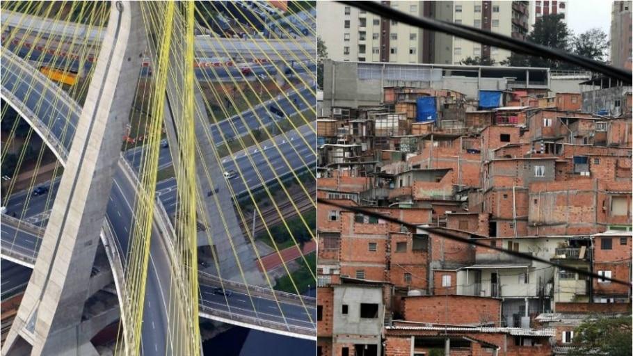 Paulistas de áreas menos desenvolvidas vivem até 13 anos menos - Hélvio Romero/Estadão e Evelson de Freitas/Estadão