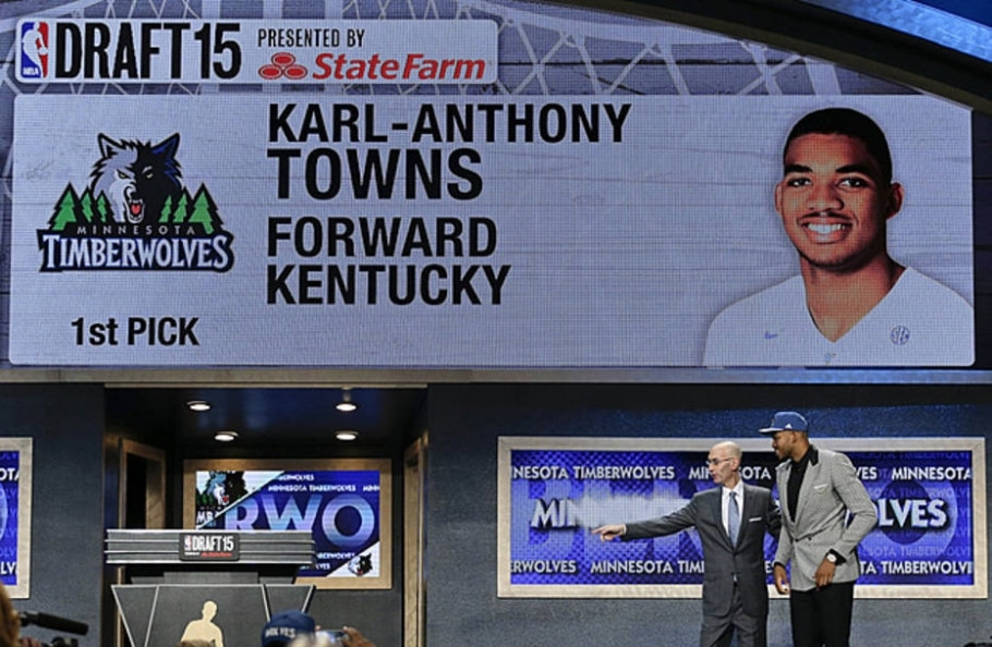 Karl-Anthony Towns - AP Photo/Julie Jacobson