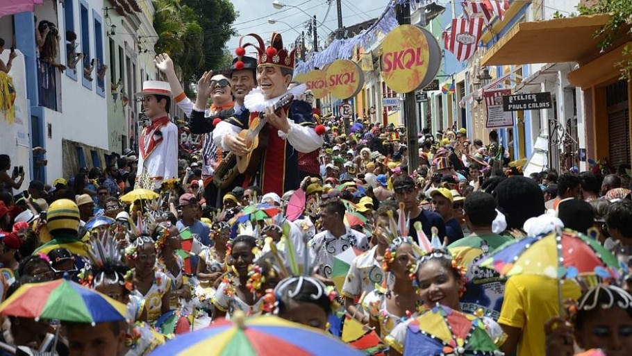 Bonecos de Olinda - Divulgação/ Prefeitura de Olinda