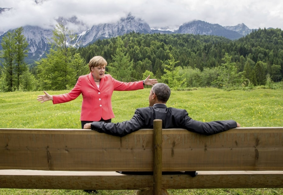 Obama e Merkel: principais aliados desde 2008 - Michael Kappeler/Pool Photo via AP