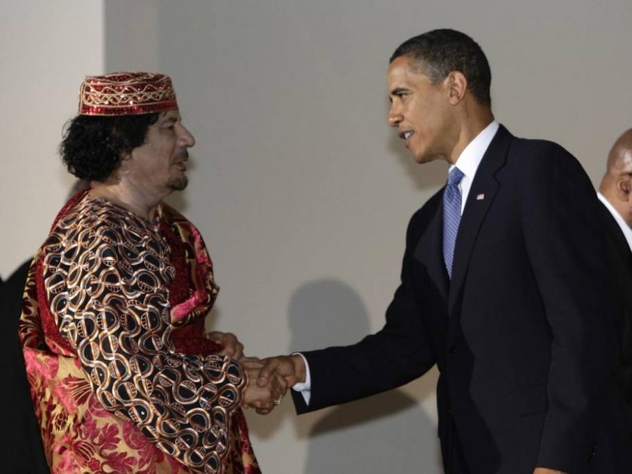 Quatro anos sem o ditador líbio Muamar Kadafi - REUTERS/Alessandro Bianchi