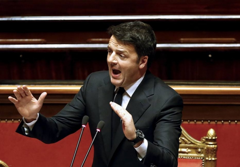 A legalização da união entre homossexuais é uma das bandeiras do partido do premiê italiano, Matteo Renzi - REUTERS/Remo Casilli