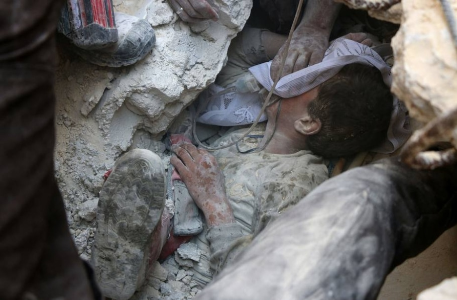Terror na síria: bombardeios deixam vítimas no país - AFP