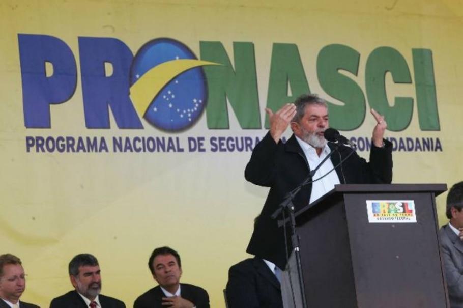 Lula discursa durante visita a Ceilândia - Ed Ferreira/AE