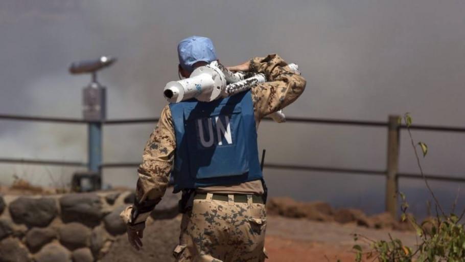 Capacete-azul da ONU  -