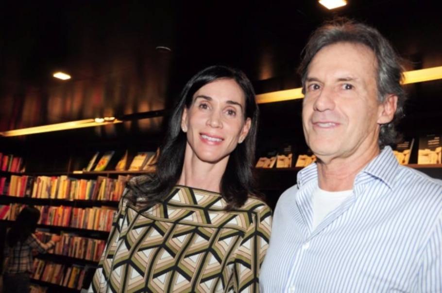 Denise Steagall e Guilherme Affonso Ferreira - Iara Morselli - Estadão