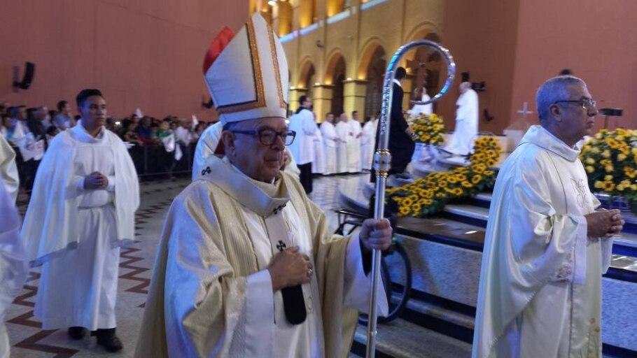 12 de Outubro: confira as comemorações no Santuário de Aparecida (SP)  - Gerson Monteiro/Estadão Conteúdo