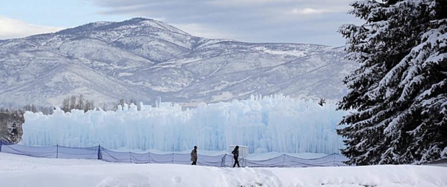 Castelos de Gelo - Rick Bowmer/AP