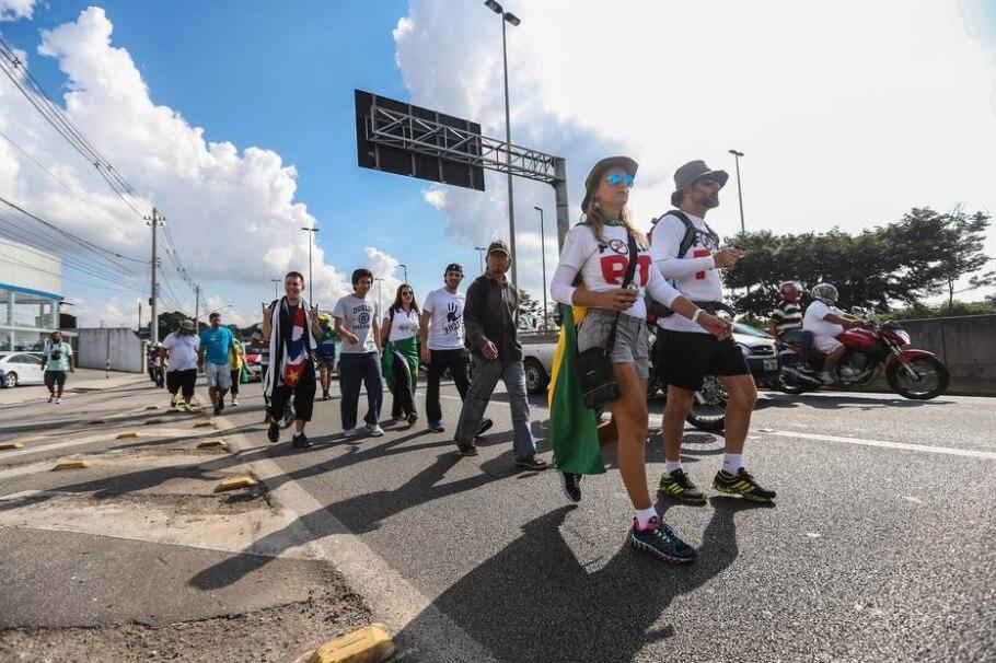 De São Paulo a Brasília a pé - TIAGO QUEIROZ/ESTADÃO