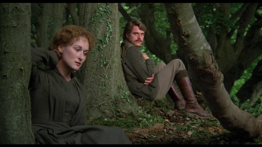Meryl e Jeremy Irons em 'A Mulher do Tenente Francês' - Divulgação