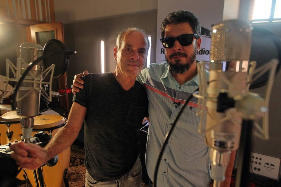 Ney Matogrosso e Jorge Du Peixe, da Nação Zumbi - Sergio Castro/Estadão