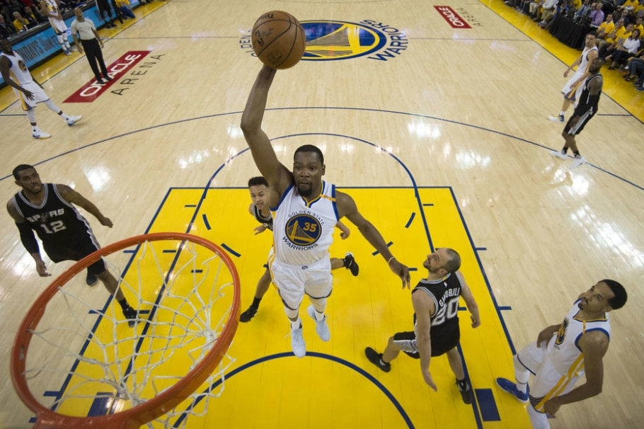 Kevin Durant, ala do Golden State Warriors - Kyle Terada/USA Today Sports