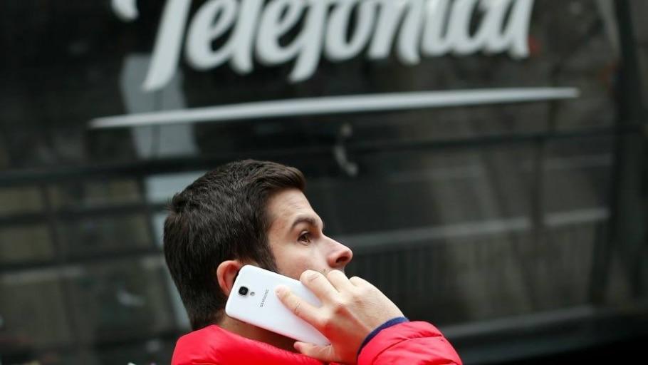 Fachada da Telefonica - Sergio Perez/Reuters