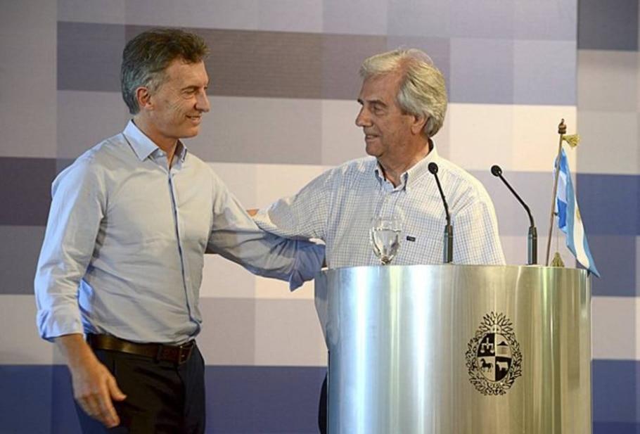 Vázquez e Macri - Reuters