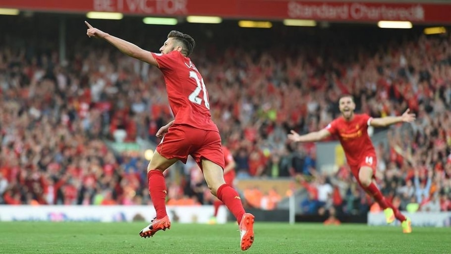 Liverpool faz 4 a 1 no Leicester - Paul Ellis/ AFP