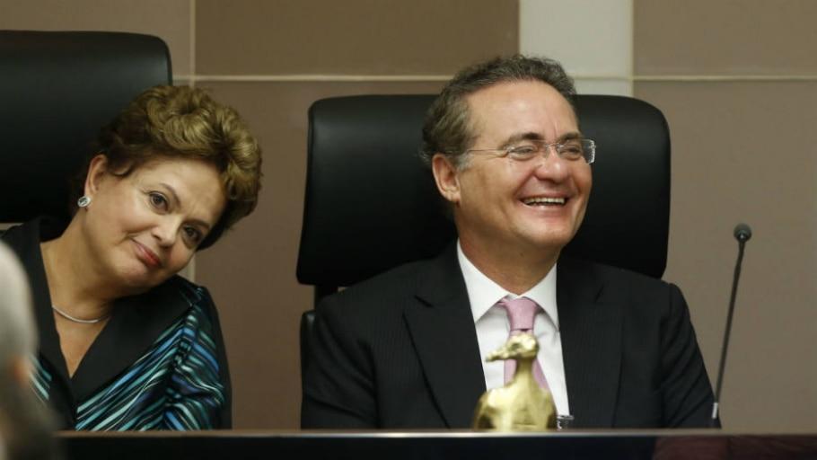 Dilma e Renan - André Dusek/Estadão