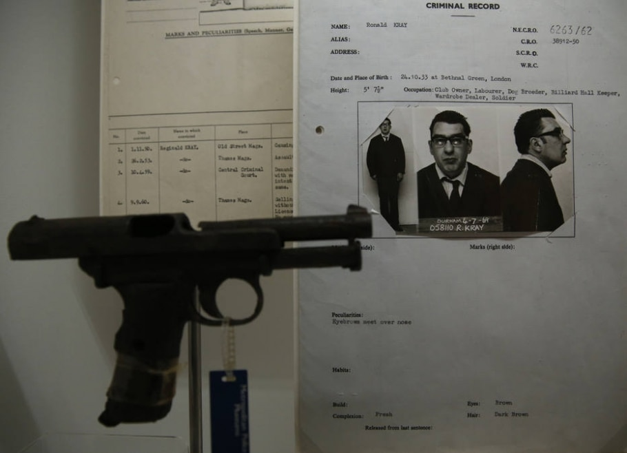 O museu do crime da Scotland Yard - AP Photo/Alastair Grant