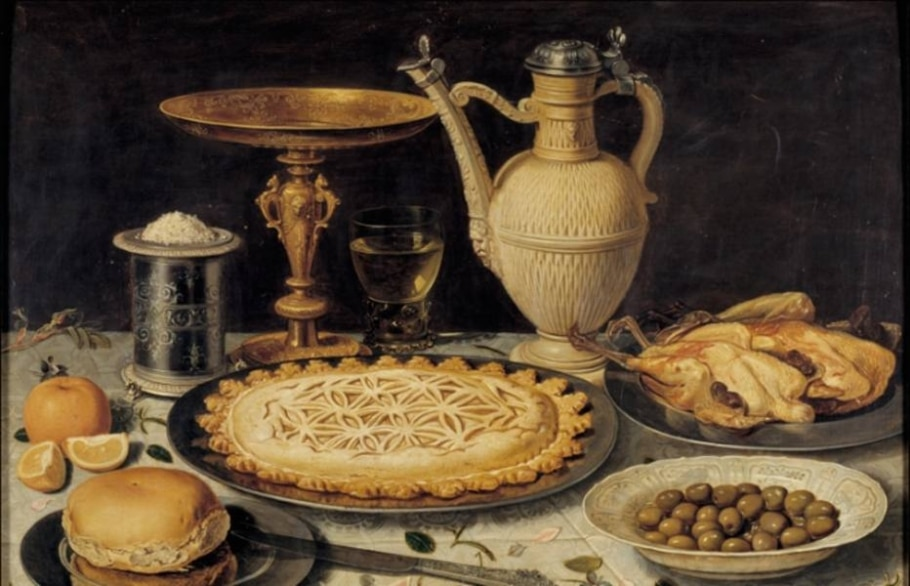 Obras de arte no Museu do Prado retratam banquetes - Reprodução