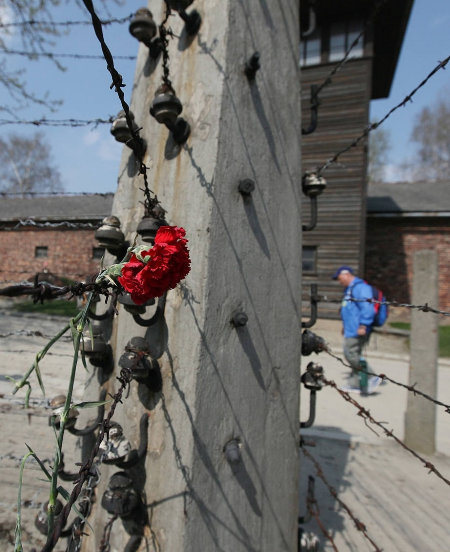 Judeus homenageiam mortos no Holocausto - AP Photo/Czarek Sokolowski