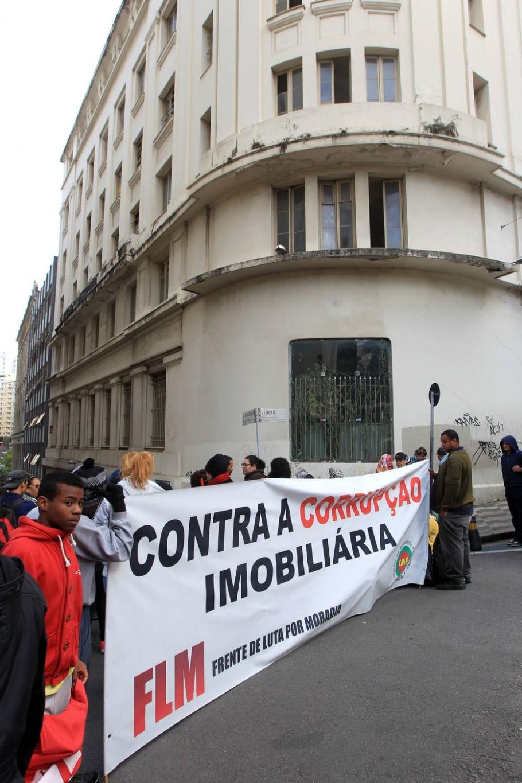 Reintegração de posse de prédio no centro de SP - Werther Santana/Estadão
