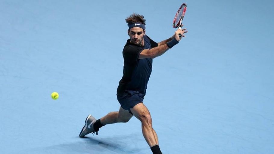 Roger Federer elimina Nishikori e avança invicto no ATP Finals - Suzanne Plunkett/Reuters