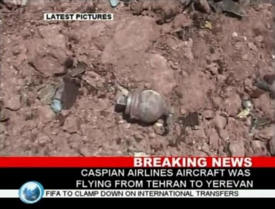 De acordo com a imprensa iraniana, as 168 pessoas que estavam a bordo do avião Tupolev morreram - Reprodução/Reuters