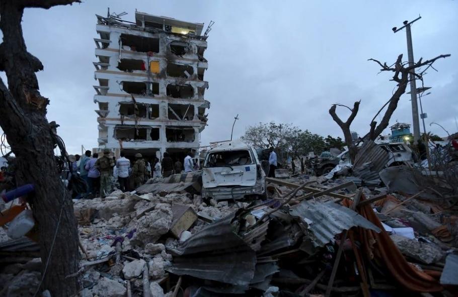Ataque contra hotel na Somália deixa pelo menos quatro mortos - Feisal Omar/Reuters