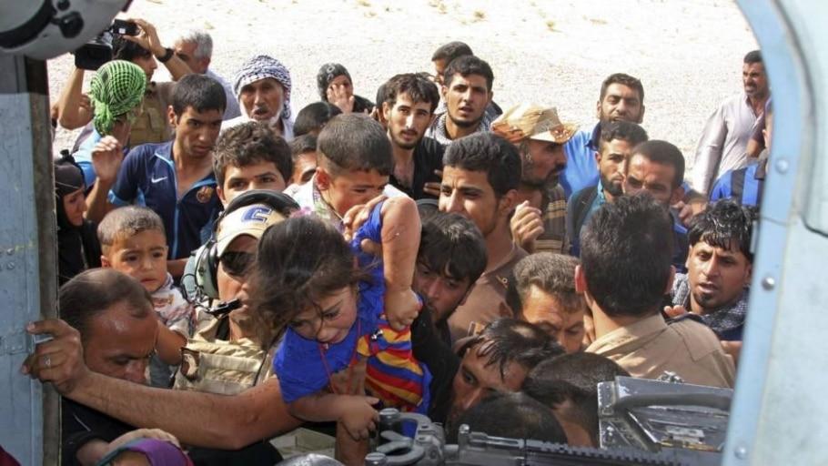 Iraque: cidade começa a receber ajuda após fim do cerco - Divulgação/AP