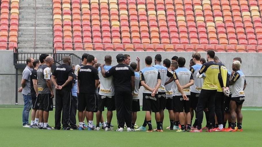 Na zona da degola, Botafogo tenta estancar crise financeira e foi ajudado pela torcida - Divulgação