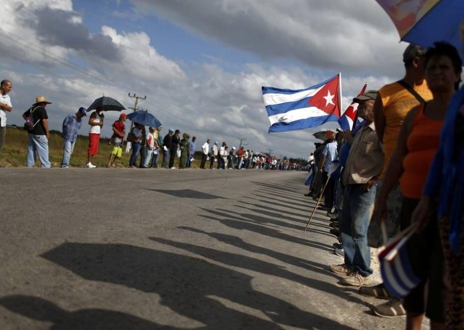 Homenagem a Fidel Castro em Cuba - REUTERS/Carlos Garcia Rawlins