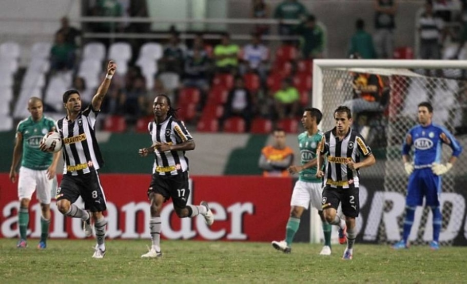 Alviverde suporta pressão botafoguense e vai às oitavas da Copa Sul-Americana - Wilton Júnior/AE