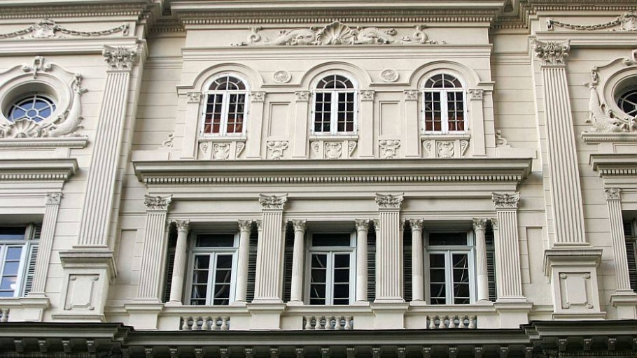 Sede do Clube Naval, na Avenida Rio Branco, Rio de Janeiro - Tasso Marcelo/Estadão