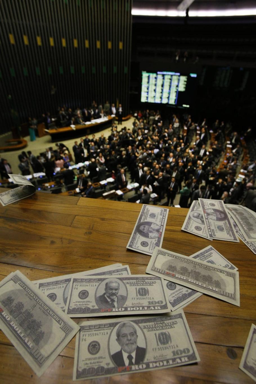 Dólares na Câmara - Dida Sampaio/estadão