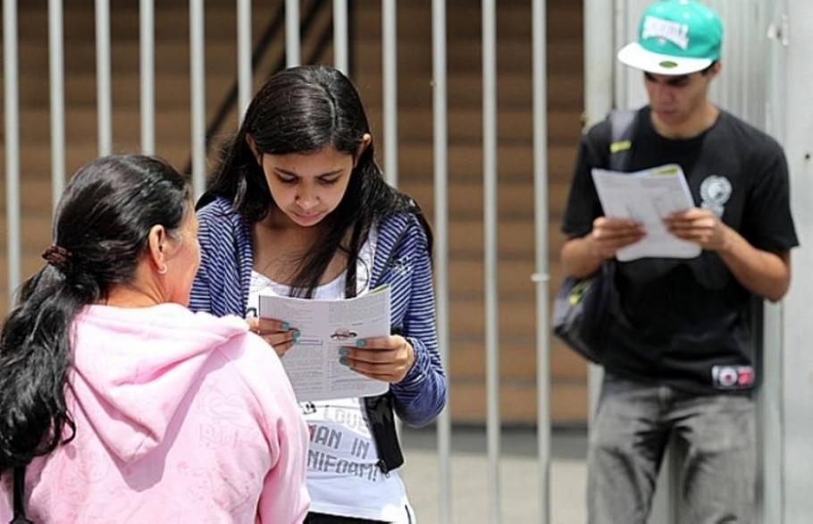 Candidatos do Enem fazem provas de Linguagens, matemática e redação neste domingo - Werther Santana/AE