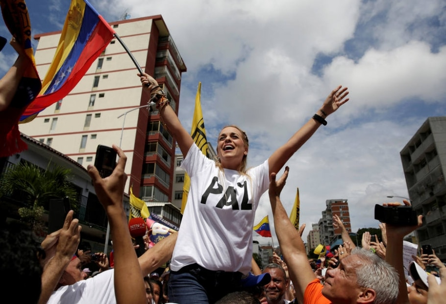 Opositores protestam na Venezuela contra Nicolás Maduro - REUTERS/Marco Bello