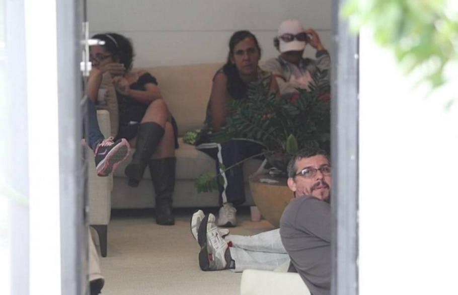 Moradores de assentamento invadem Instituto Lula - Epitácio Pessoa/AE
