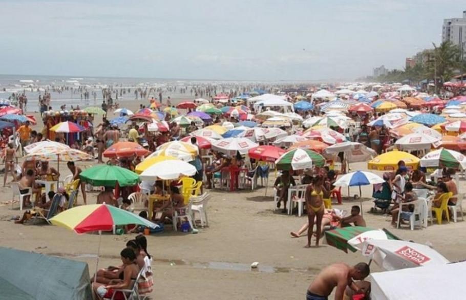 Veja a qualidade das praias no litoral paulista - Divulgação