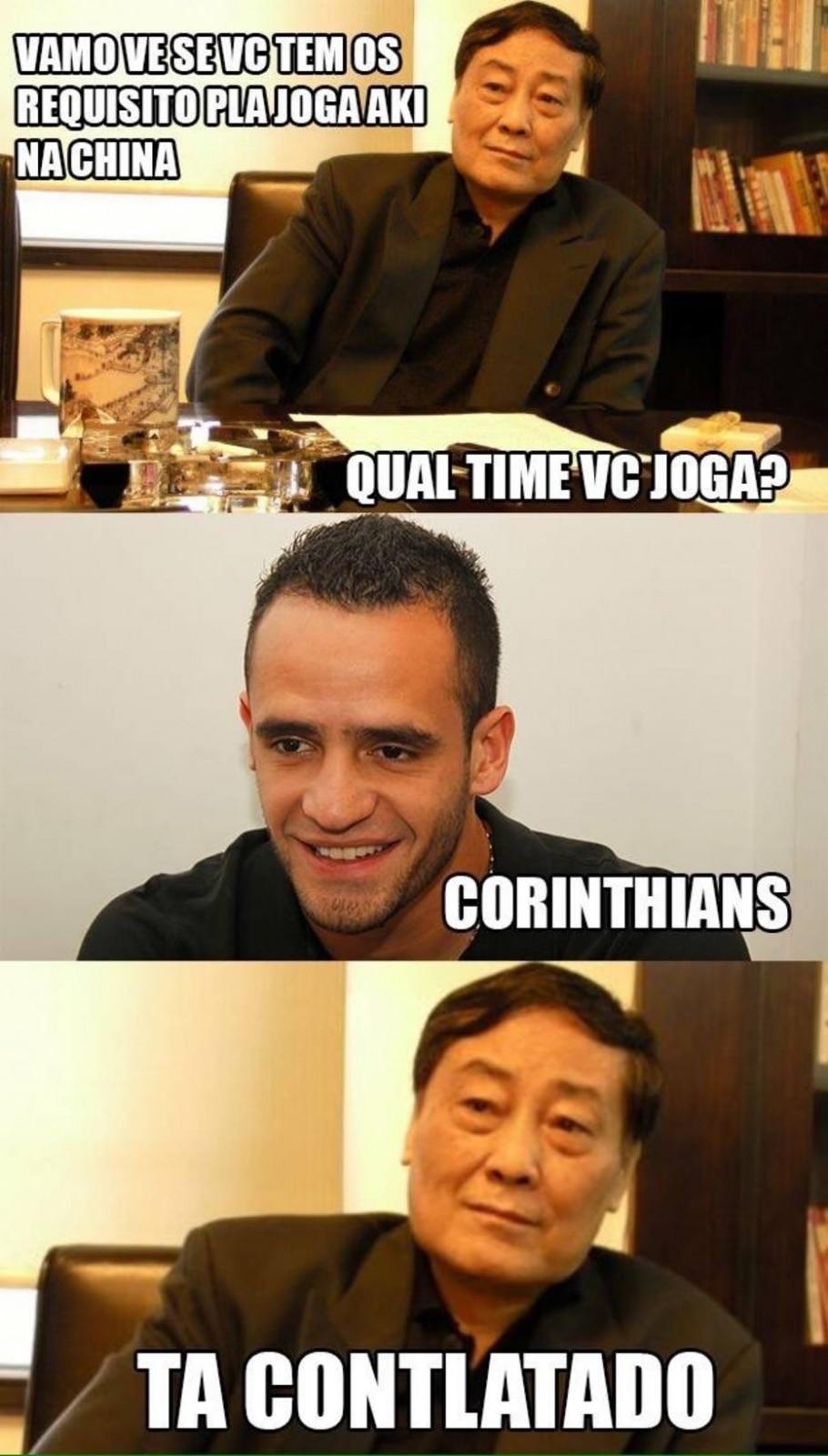 Corinthians made in China - Reprodução